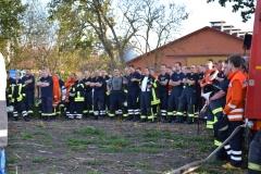 Viele Feuerwehrleute